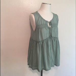 """Vibe of  """"free people"""" boho blouse/excellent"""